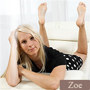 Allyoucanfeet model Zoe profile picture