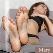 Allyoucanfeet model Mary profile picture