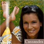 Allyoucanfeet model Cassandra profile picture