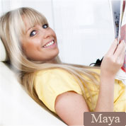 Allyoucanfeet model Maya profile picture
