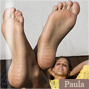 Allyoucanfeet model Paula profile picture