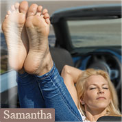 Allyoucanfeet model Samantha profile picture