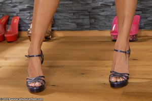 small preview pic number 19 from set 2531 showing Allyoucanfeet model Marcie