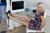 small preview pic number 2 from set 1003 showing Allyoucanfeet model Madeleine