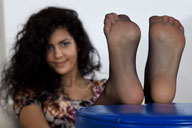 small preview pic number 2 from set 1005 showing Allyoucanfeet model Sophia
