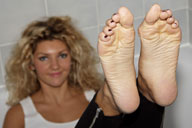 small preview pic number 1 from set 1006 showing Allyoucanfeet model Nati