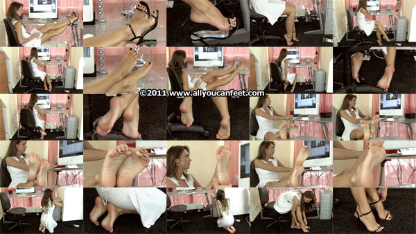 bigger preview pic from set 1058 showing Allyoucanfeet model Tara