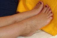 small preview pic number 2 from set 107 showing Allyoucanfeet model Marie