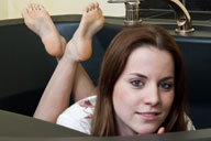 small preview pic number 5 from set 1103 showing Allyoucanfeet model Silvi