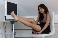 small preview pic number 5 from set 1114 showing Allyoucanfeet model Brini