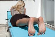 small preview pic number 3 from set 1115 showing Allyoucanfeet model Madeleine
