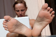small preview pic number 5 from set 1122 showing Allyoucanfeet model CathyB