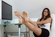 small preview pic number 5 from set 1127 showing Allyoucanfeet model Lara - New Model