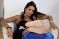 small preview pic number 6 from set 1138 showing Allyoucanfeet model Cassandra