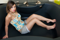 small preview pic number 3 from set 1159 showing Allyoucanfeet model Gülli
