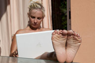 small preview pic number 4 from set 1170 showing Allyoucanfeet model Aileen