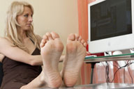 small preview pic number 3 from set 1176 showing Allyoucanfeet model Kiro