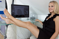 small preview pic number 3 from set 1199 showing Allyoucanfeet model Vani
