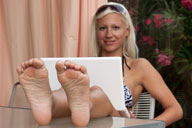 small preview pic number 4 from set 1205 showing Allyoucanfeet model Eva