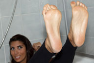 small preview pic number 1 from set 1214 showing Allyoucanfeet model Ciara