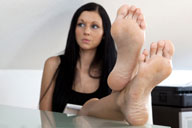 small preview pic number 5 from set 1215 showing Allyoucanfeet model Cora