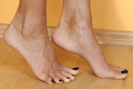 small preview pic number 2 from set 1226 showing Allyoucanfeet model Mel