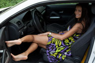 small preview pic number 3 from set 1235 showing Allyoucanfeet model Cassandra