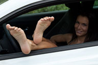 small preview pic number 4 from set 1235 showing Allyoucanfeet model Cassandra