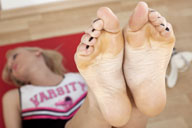 small preview pic number 3 from set 1237 showing Allyoucanfeet model Emely