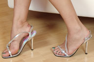 small preview pic number 1 from set 1242 showing Allyoucanfeet model Karine