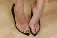 small preview pic number 3 from set 1242 showing Allyoucanfeet model Karine