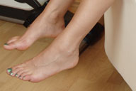 small preview pic number 5 from set 1242 showing Allyoucanfeet model Karine