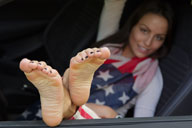 small preview pic number 5 from set 1251 showing Allyoucanfeet model Gigi - New Model