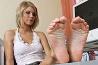 small preview pic number 3 from set 1260 showing Allyoucanfeet model Steffi