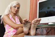 small preview pic number 5 from set 1276 showing Allyoucanfeet model Tini