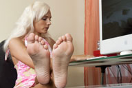 small preview pic number 6 from set 1276 showing Allyoucanfeet model Tini
