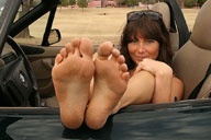 small preview pic number 5 from set 1285 showing Allyoucanfeet model Megan