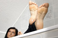 small preview pic number 3 from set 1289 showing Allyoucanfeet model Gina