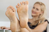 small preview pic number 3 from set 1291 showing Allyoucanfeet model Nicola