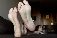 small preview pic number 2 from set 1295 showing Allyoucanfeet model Chris