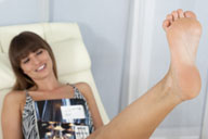 small preview pic number 3 from set 1303 showing Allyoucanfeet model Burni