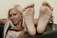 small preview pic number 3 from set 1306 showing Allyoucanfeet model Eva