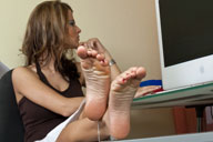 small preview pic number 5 from set 1307 showing Allyoucanfeet model Naddl
