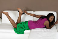small preview pic number 1 from set 1308 showing Allyoucanfeet model Asmara