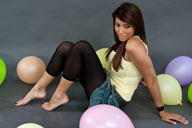small preview pic number 2 from set 1311 showing Allyoucanfeet model Ciara