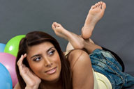 small preview pic number 6 from set 1311 showing Allyoucanfeet model Ciara
