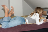 small preview pic number 1 from set 1315 showing Allyoucanfeet model Christiane