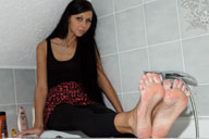 small preview pic number 6 from set 1317 showing Allyoucanfeet model Cora