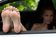 small preview pic number 4 from set 1319 showing Allyoucanfeet model Romy - New Model
