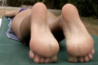 small preview pic number 5 from set 1322 showing Allyoucanfeet model CathyB